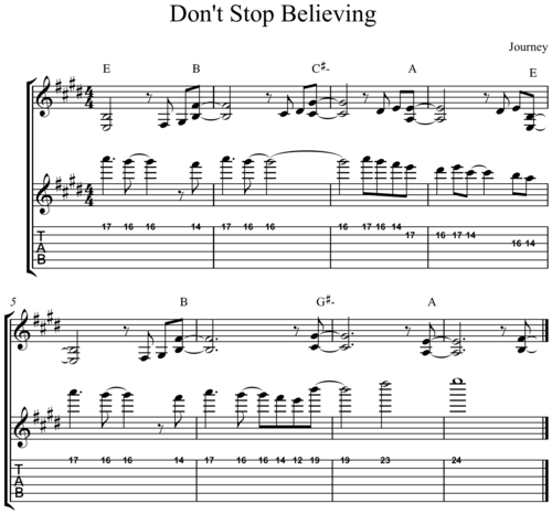 Dont Stop Believing Guitarist Mark Marshall