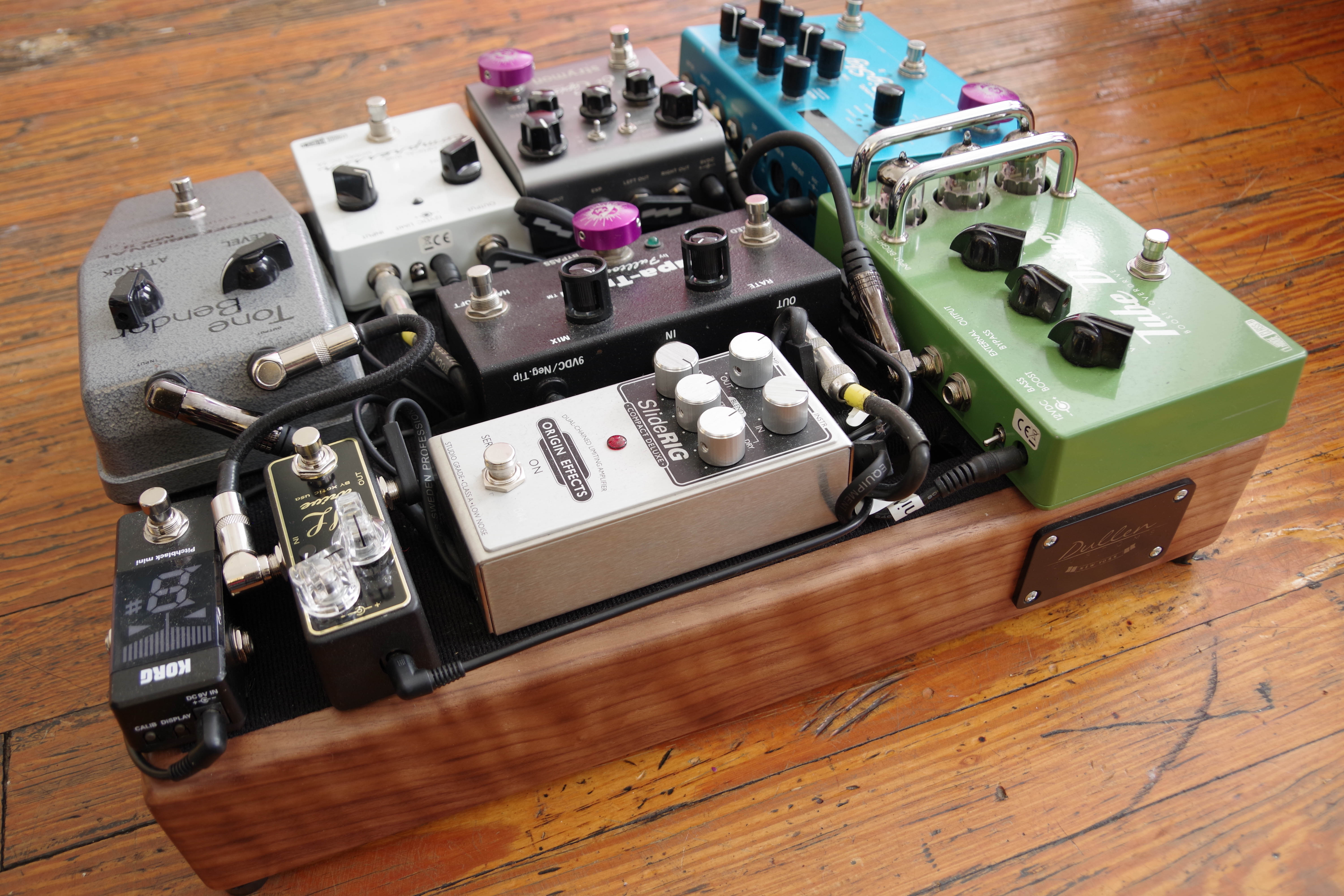 tips on building a modular pedalboard guitarist mark marshall. Black Bedroom Furniture Sets. Home Design Ideas